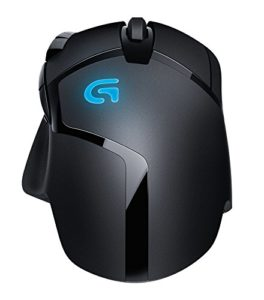 Vista retro e bombatura mouse gaming G402