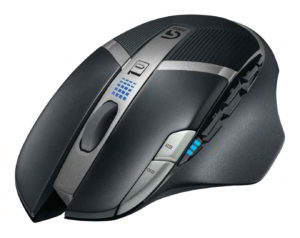 Mouse G602 wireless vista frontale