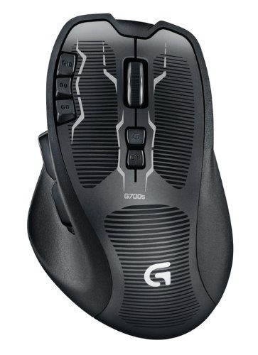 Mouse gaming Logitech G700s senza fili wireless
