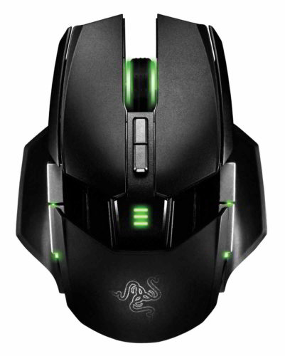 Mouse gaming Razer Ouroboros wireless senza fili