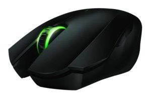 Razer Orochi vista frontale del mouse wireless
