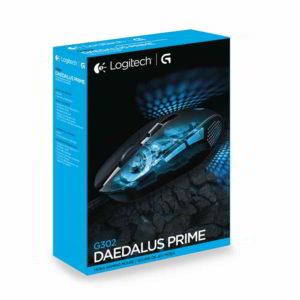 Scatola del mouse da gioco Logitech G302 Daedalus Prime