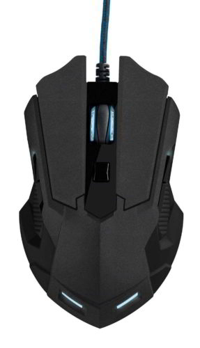 Gaming mouse Trust GXT 158 vista dall'alto
