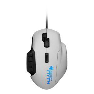 foto dall'alto del mouse gaming roccat nyth