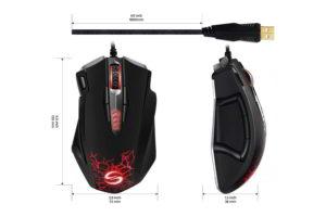 mouse da gaming uranus cavo