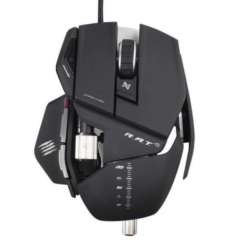mouse da gioco gaming r.a.t. 5 di mad catz